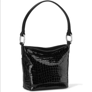 Brighton Black Leather Bag